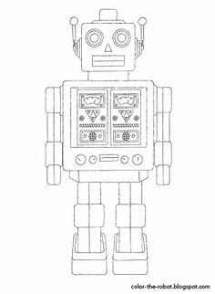detailed robot coloring pages cool robot coloring pages to print for kids pages detailed robot coloring