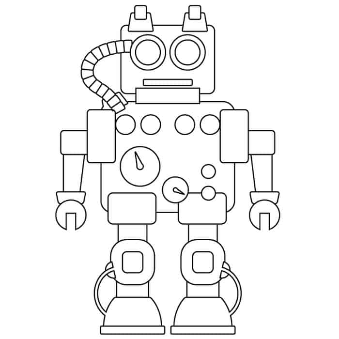 detailed robot coloring pages detailed robot coloring pages coloring detailed robot pages