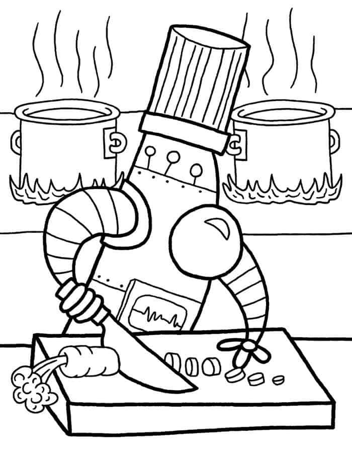 detailed robot coloring pages printable robot coloring pages for kids coloring detailed robot pages