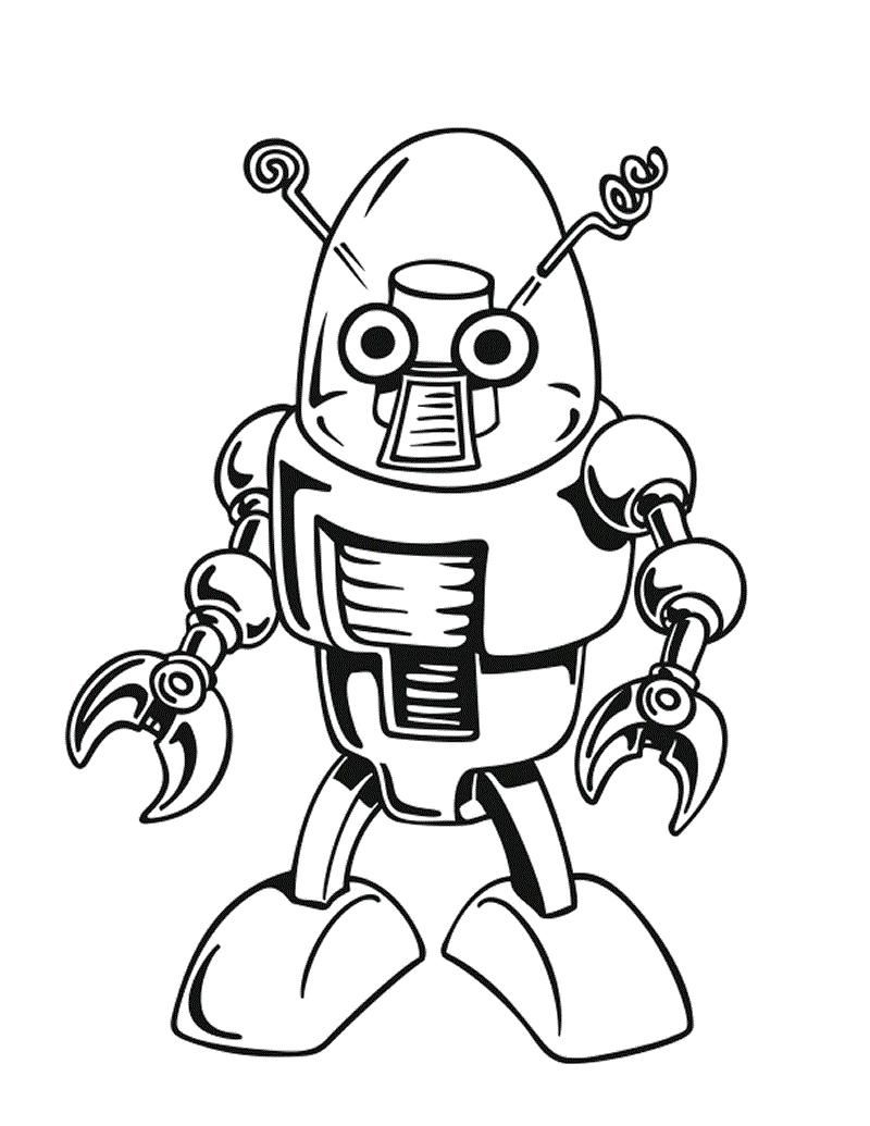 detailed robot coloring pages printable robot coloring pages for kids robot coloring detailed pages