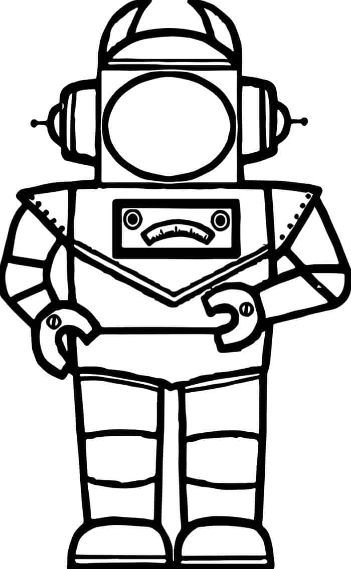 detailed robot coloring pages printable robot coloring pages for kids robot coloring pages detailed 1 1