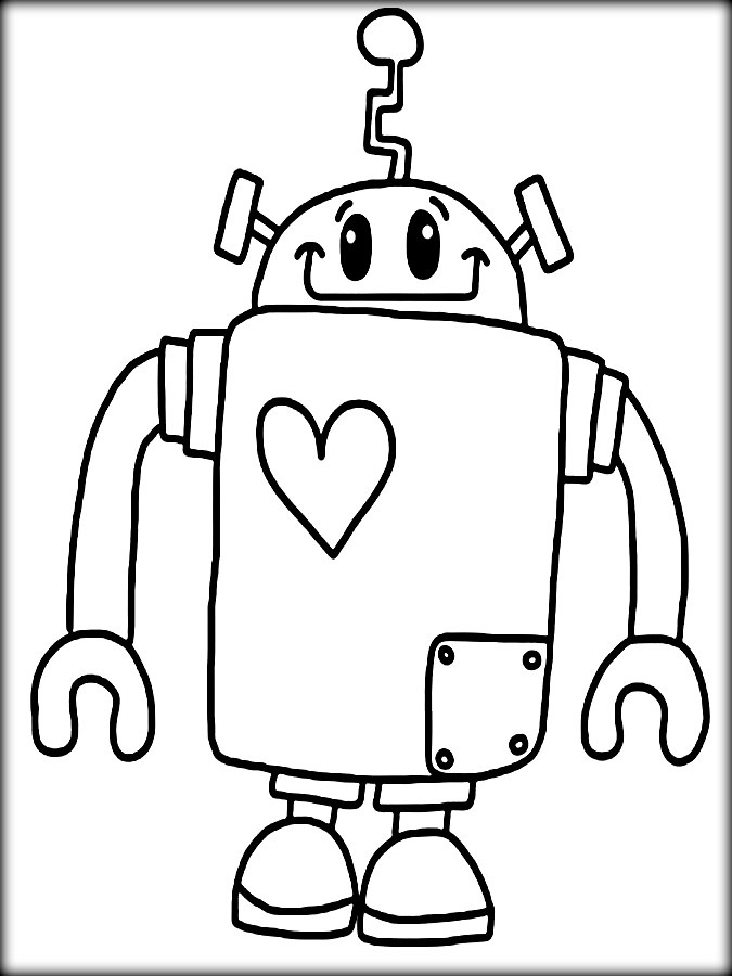 detailed robot coloring pages printable robot coloring pages for kids robot detailed coloring pages