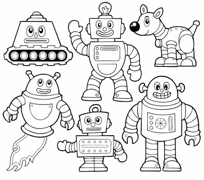 detailed robot coloring pages robot coloring pages detailed pages robot coloring