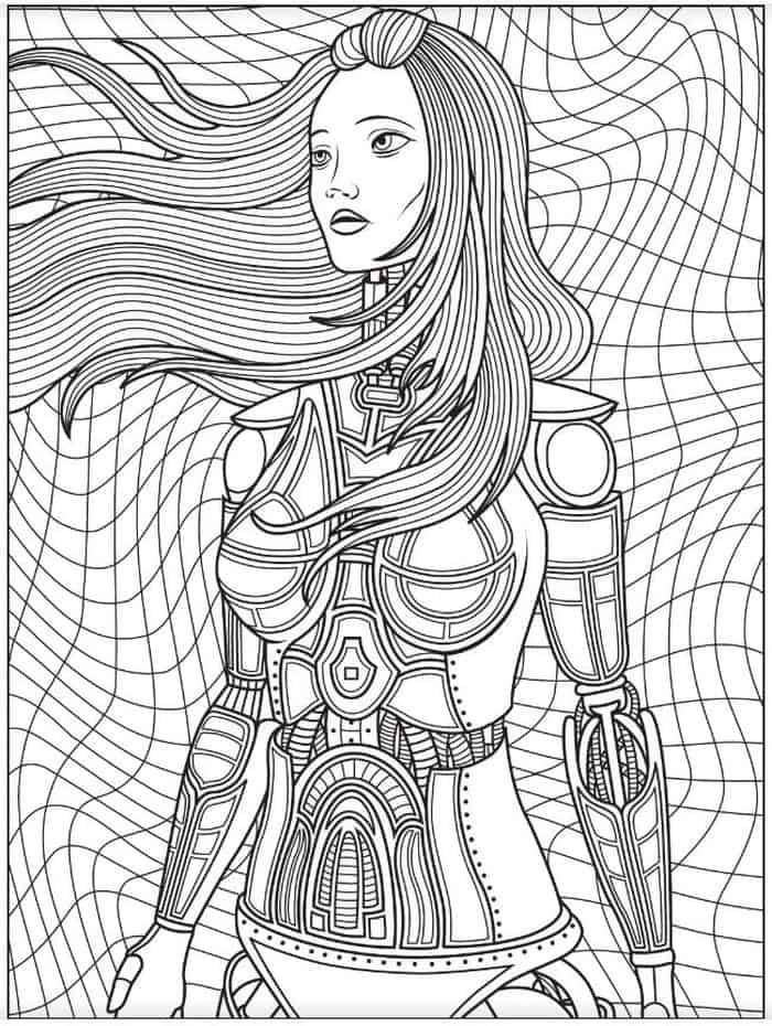 detailed robot coloring pages robot drawings sketch coloring page coloring pages detailed robot