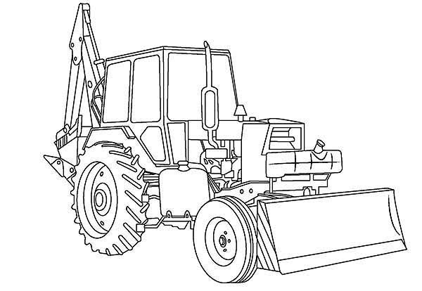 digger coloring pages digger free colouring pages digger coloring pages