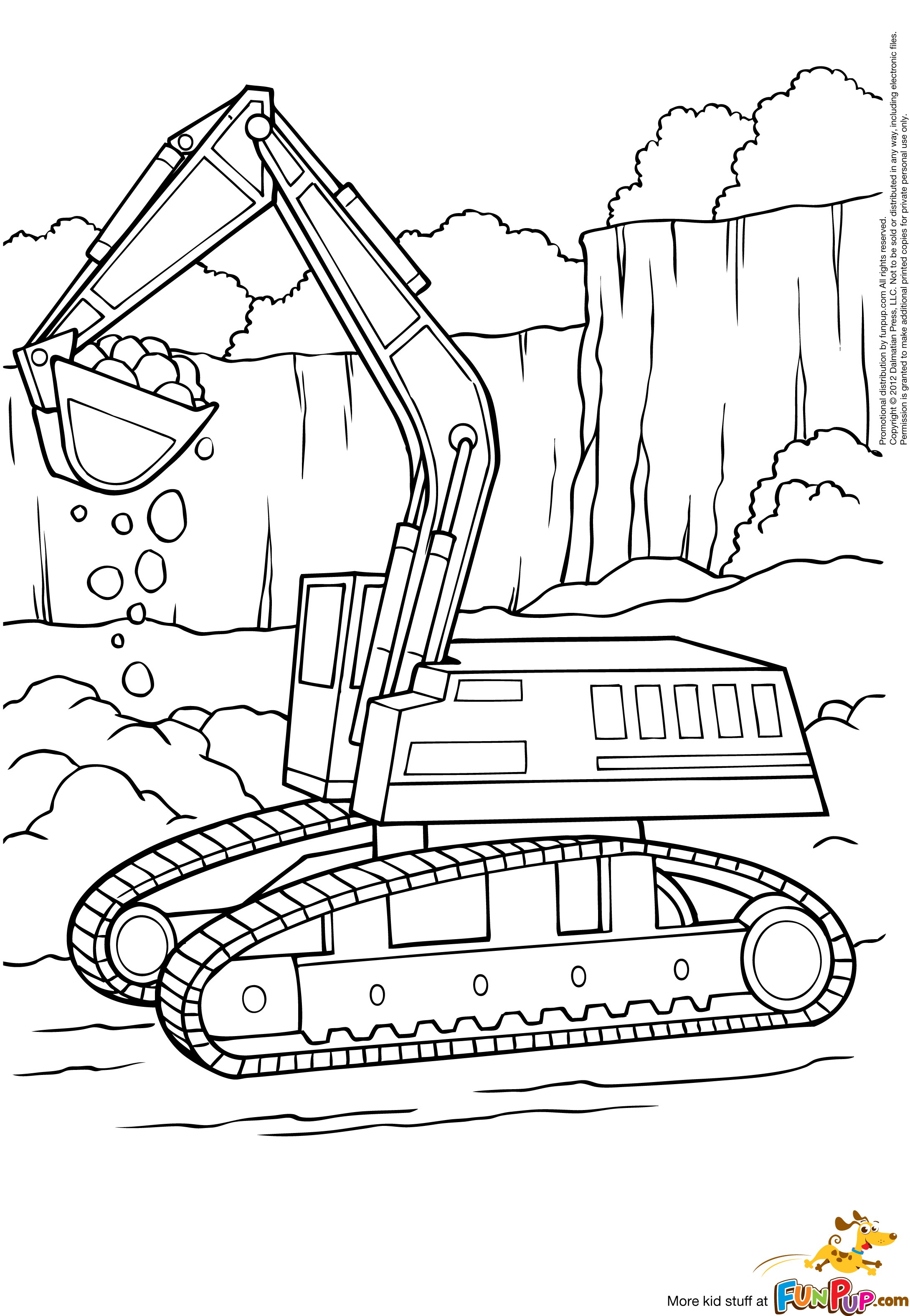 digger coloring pages digger kiddicolour pages coloring digger