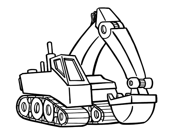 digger coloring pages printable colouring digger printable coloring pages pages coloring digger
