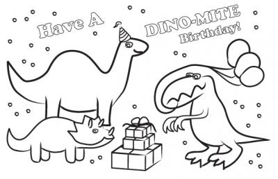 dinosaur happy birthday coloring pages 46 best dinosaur birthday party images on pinterest pages coloring birthday happy dinosaur