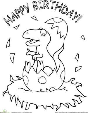dinosaur happy birthday coloring pages birthday card coloring pages coloring home coloring dinosaur pages birthday happy