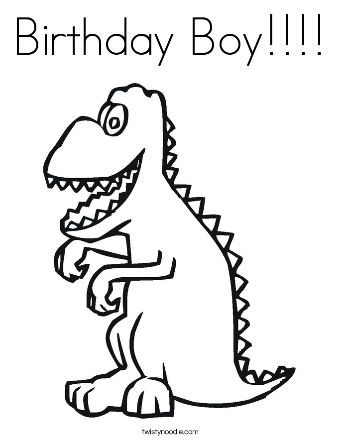 dinosaur happy birthday coloring pages pin on happy birthday coloring pages dinosaur coloring happy pages birthday