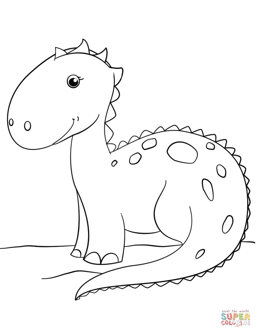 dinosaur printout baby dinosaur coloring pages to download and print for free printout dinosaur