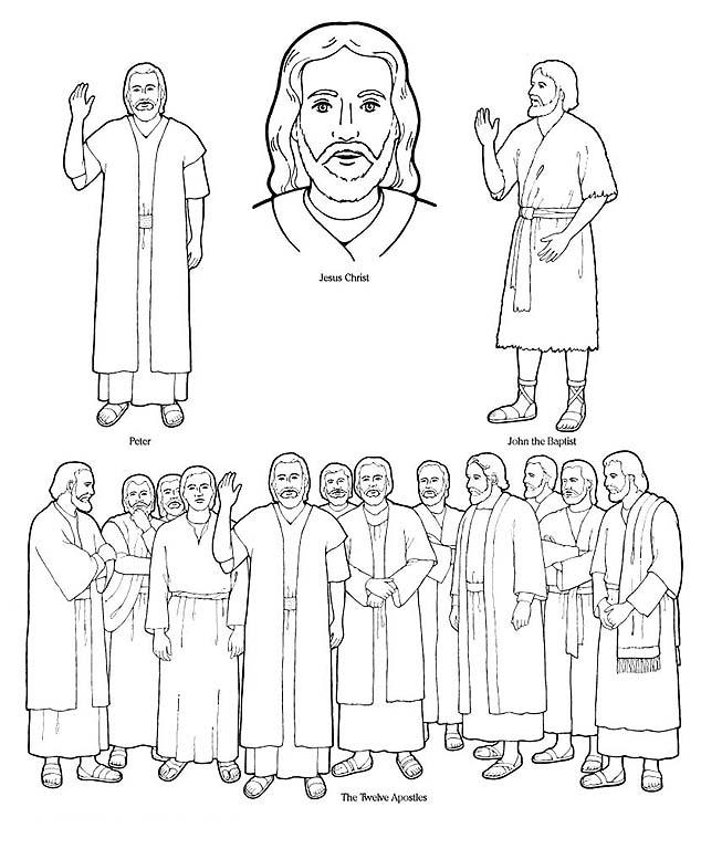 disciples coloring pages printable disciples coloring pages printable at getcoloringscom printable coloring pages disciples