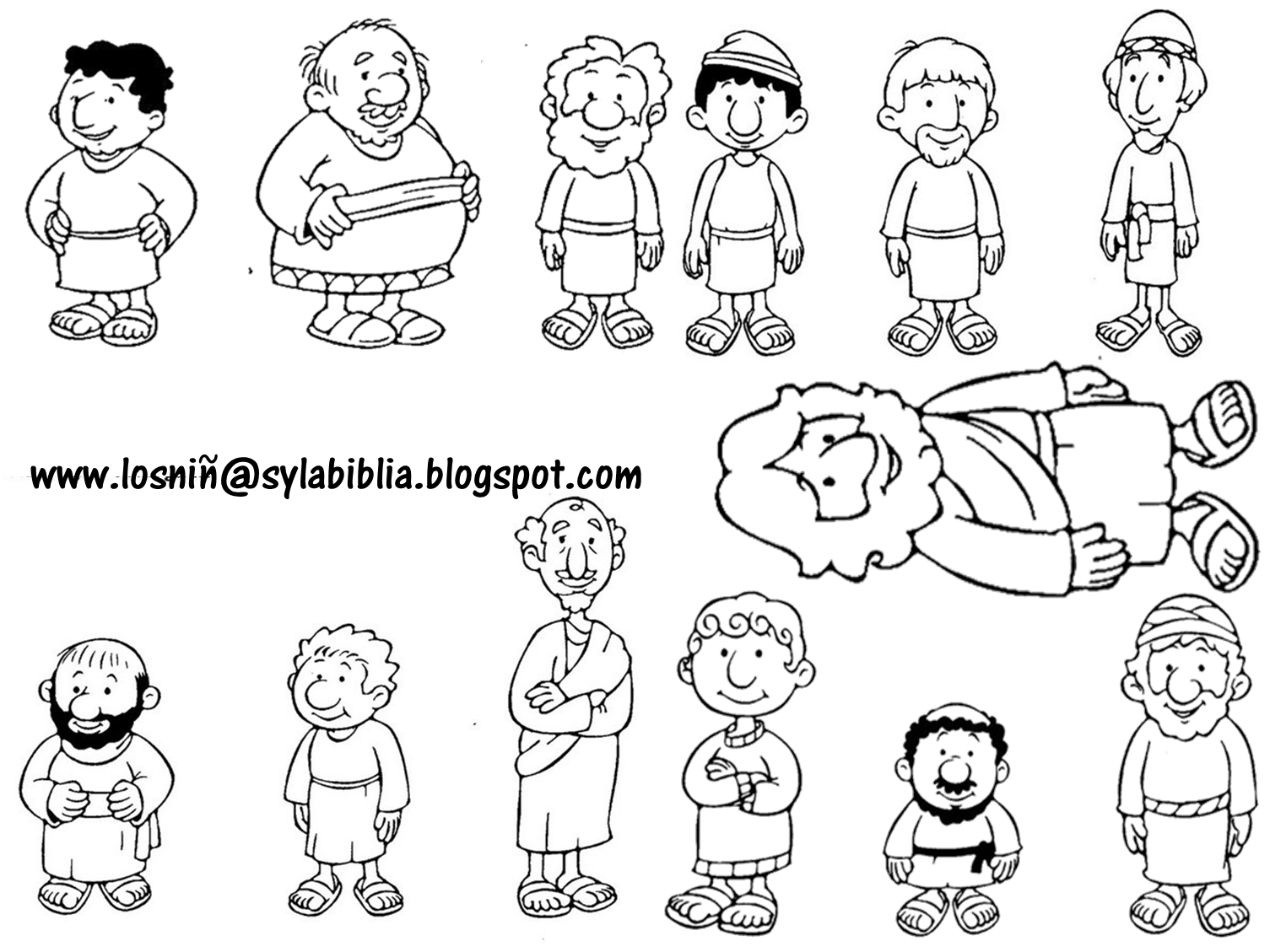 disciples coloring pages printable twelve disciples coloring page coloring home disciples pages printable coloring