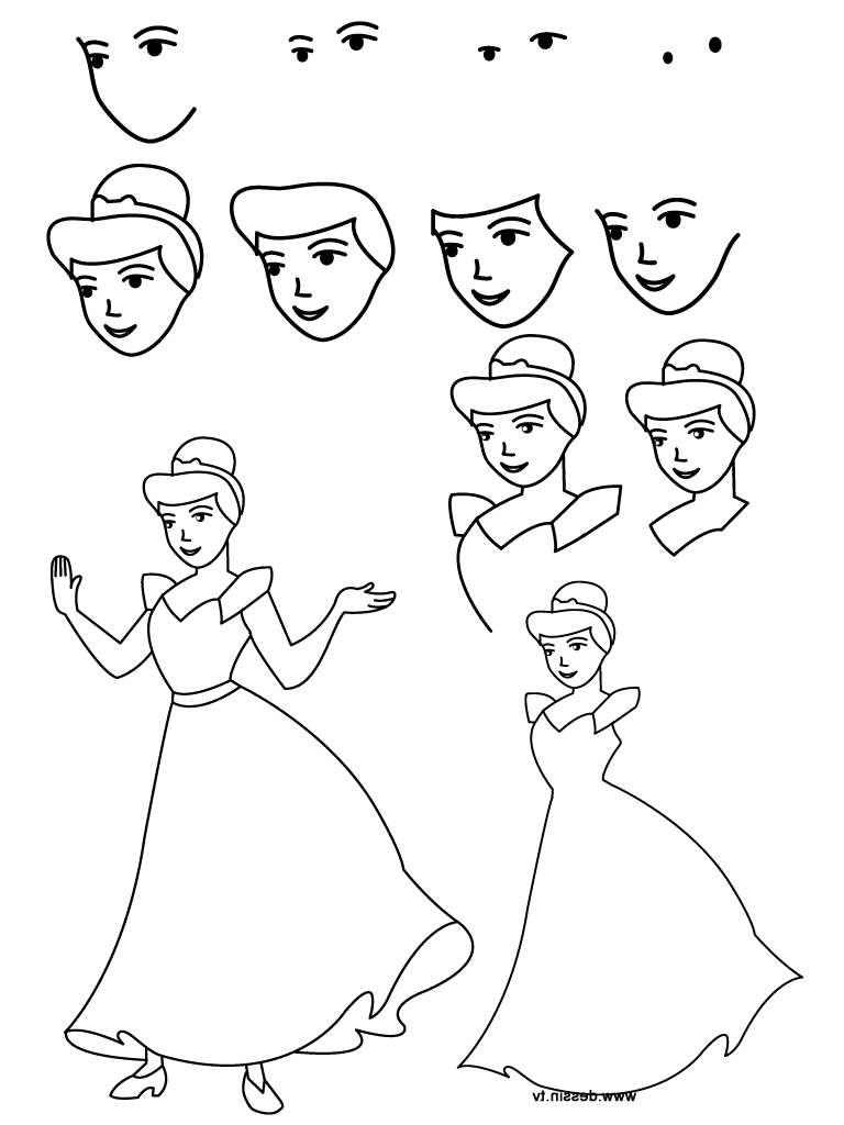 disney characters sketches step by step learn how to draw gus from cinderella cinderella step by step characters by sketches disney step