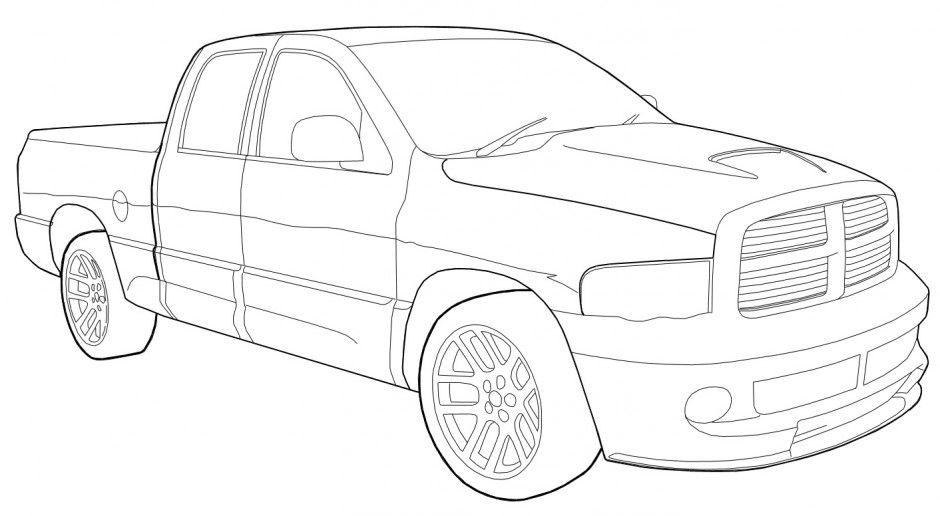 dodge ram coloring pages 64 ram truck coloring pages image ideas 45forthe45th pages ram coloring dodge