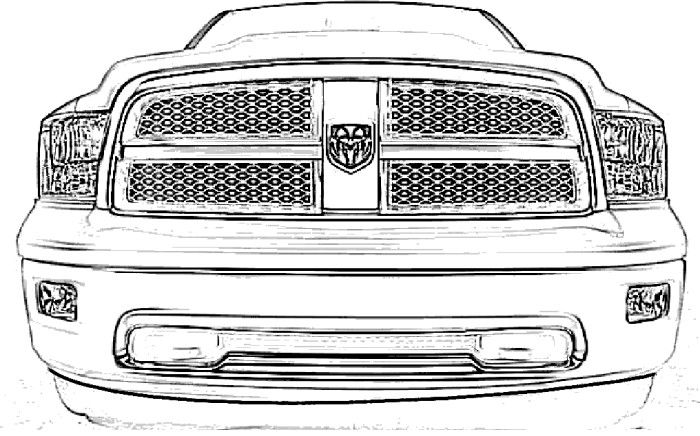 dodge ram coloring pages dodge ram truck coloring pages coloring home pages coloring dodge ram
