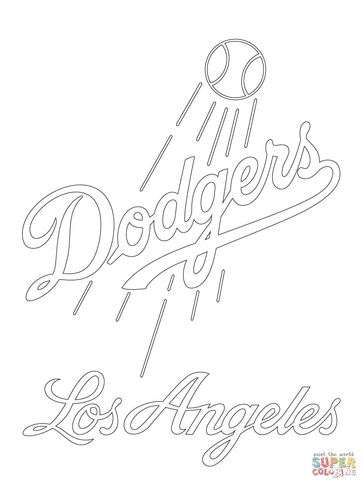 dodgers baseball coloring pages los angeles dodgers pages coloring pages dodgers baseball pages coloring