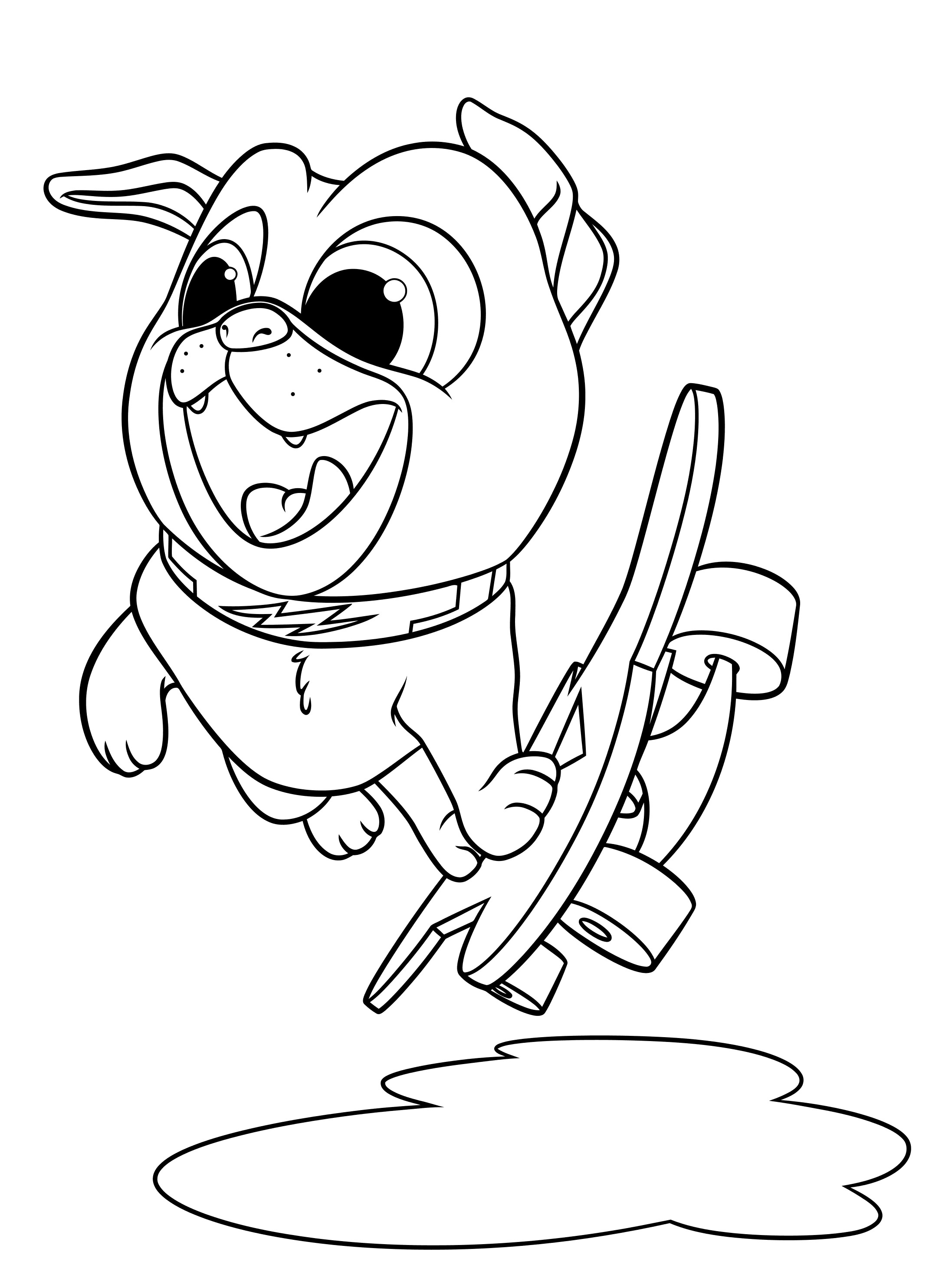 dog color pages sad puppy coloring pages at getcoloringscom free dog pages color