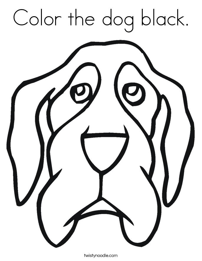 dog head coloring pages animal coloring pages for kids dog sitting coloring pages head dog
