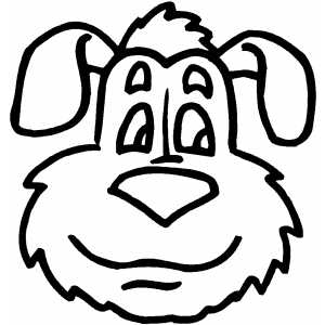 dog head coloring pages cute dog face coloring page dog coloring pages org find head pages dog coloring