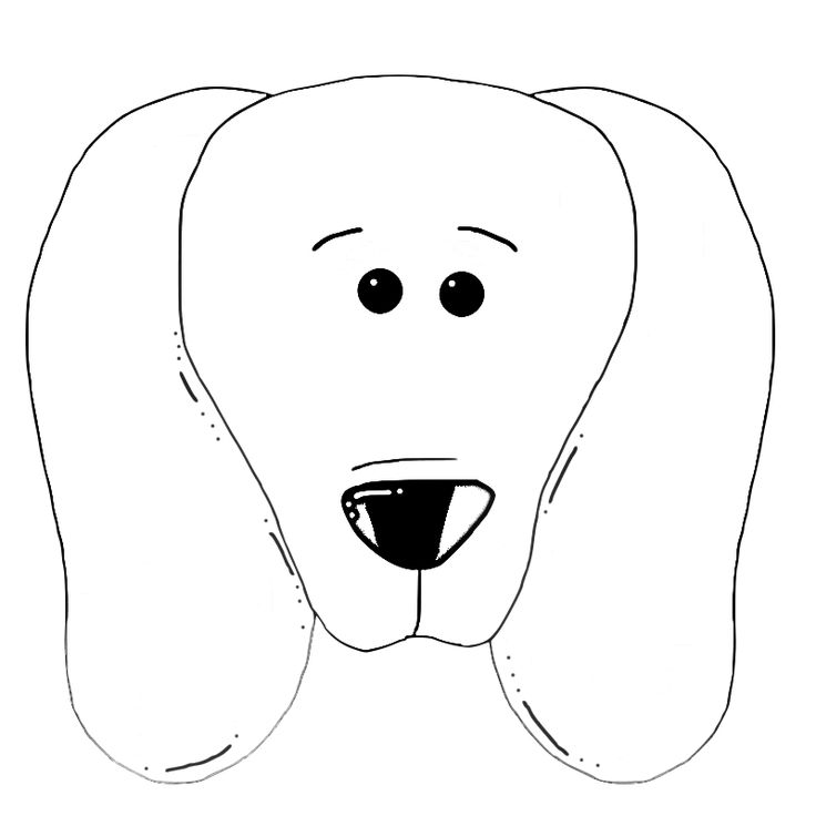 dog head coloring pages dog face coloring page coloring home coloring dog pages head