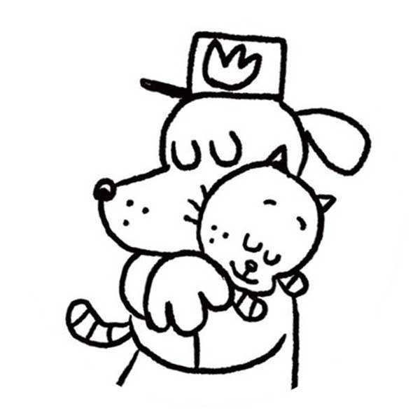 dog man coloring pages cute dogman coloring pages for cheerful kids theseacroft dog pages coloring man