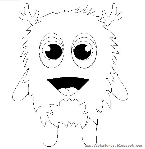 Dojo monster coloring pages