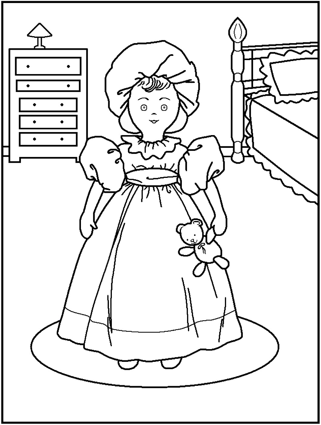 dolls colouring pages dolls coloring pages colouring pages dolls 1 1