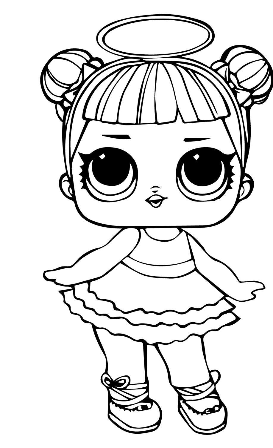 dolls colouring pages little lids siobhan lol doll colouring pages pages dolls colouring