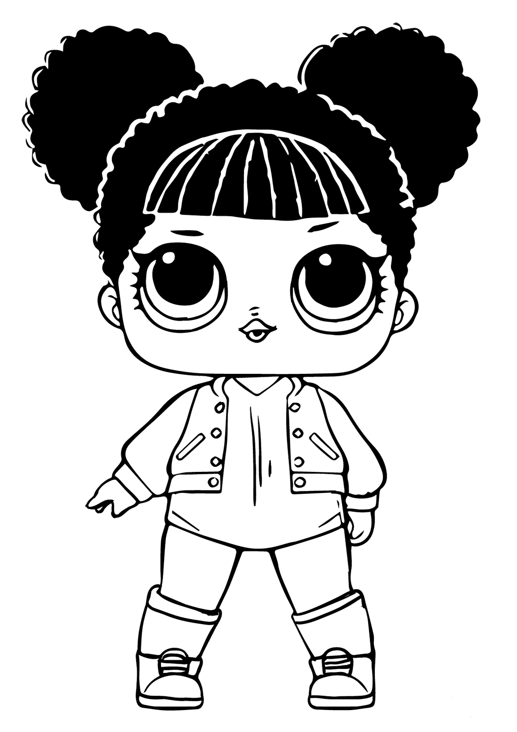 dolls colouring pages lol surprise doll coloring pages getcoloringpagescom colouring pages dolls