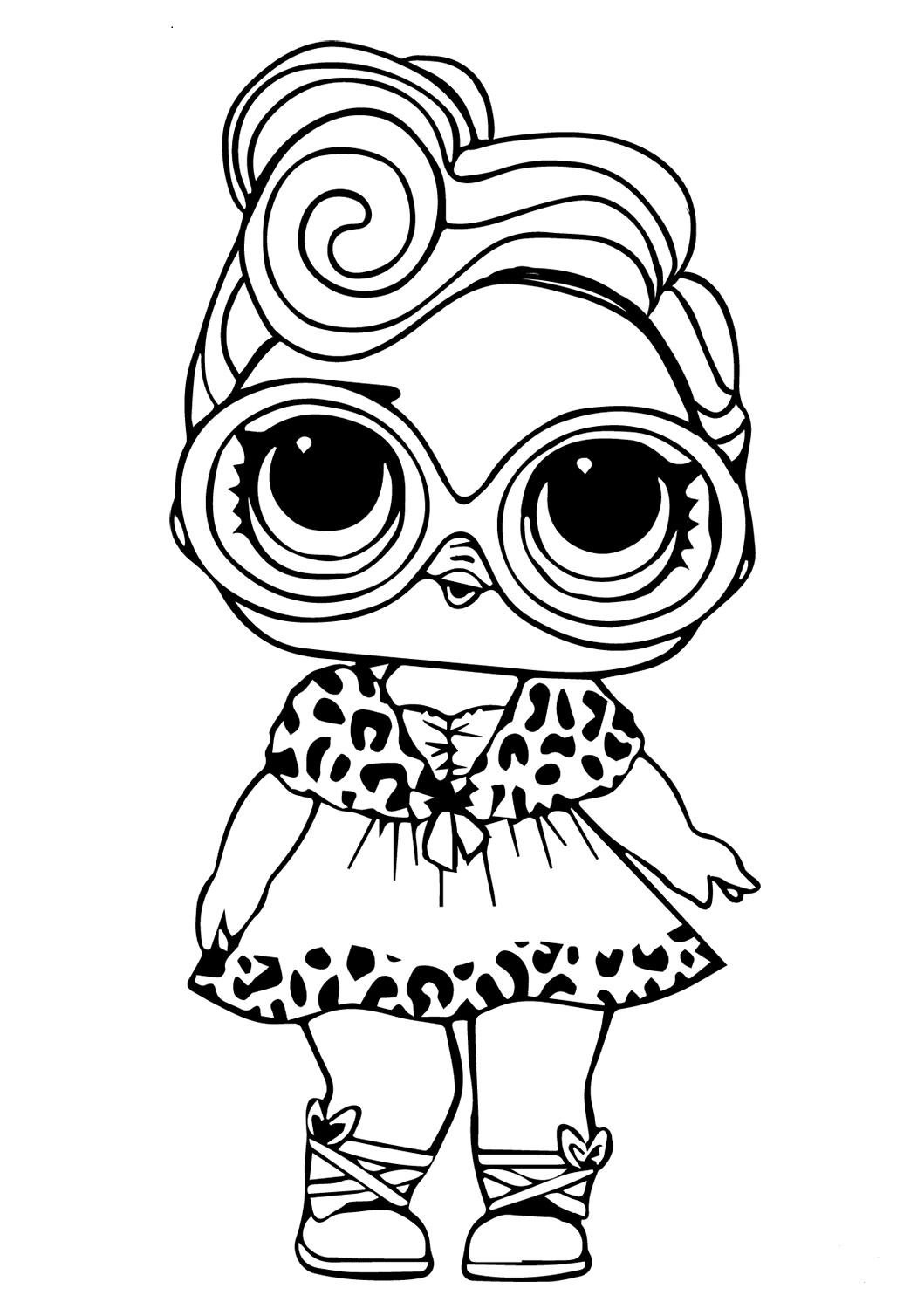 dolls colouring pages lol surprise dolls coloring pages print them for free pages dolls colouring