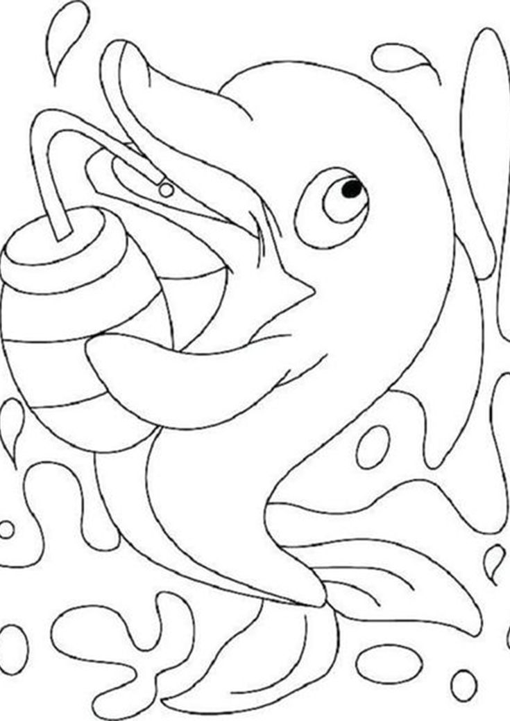 dolphin coloring pages free printable dolphin coloring page 1 color kid stuff dolphin free printable pages coloring