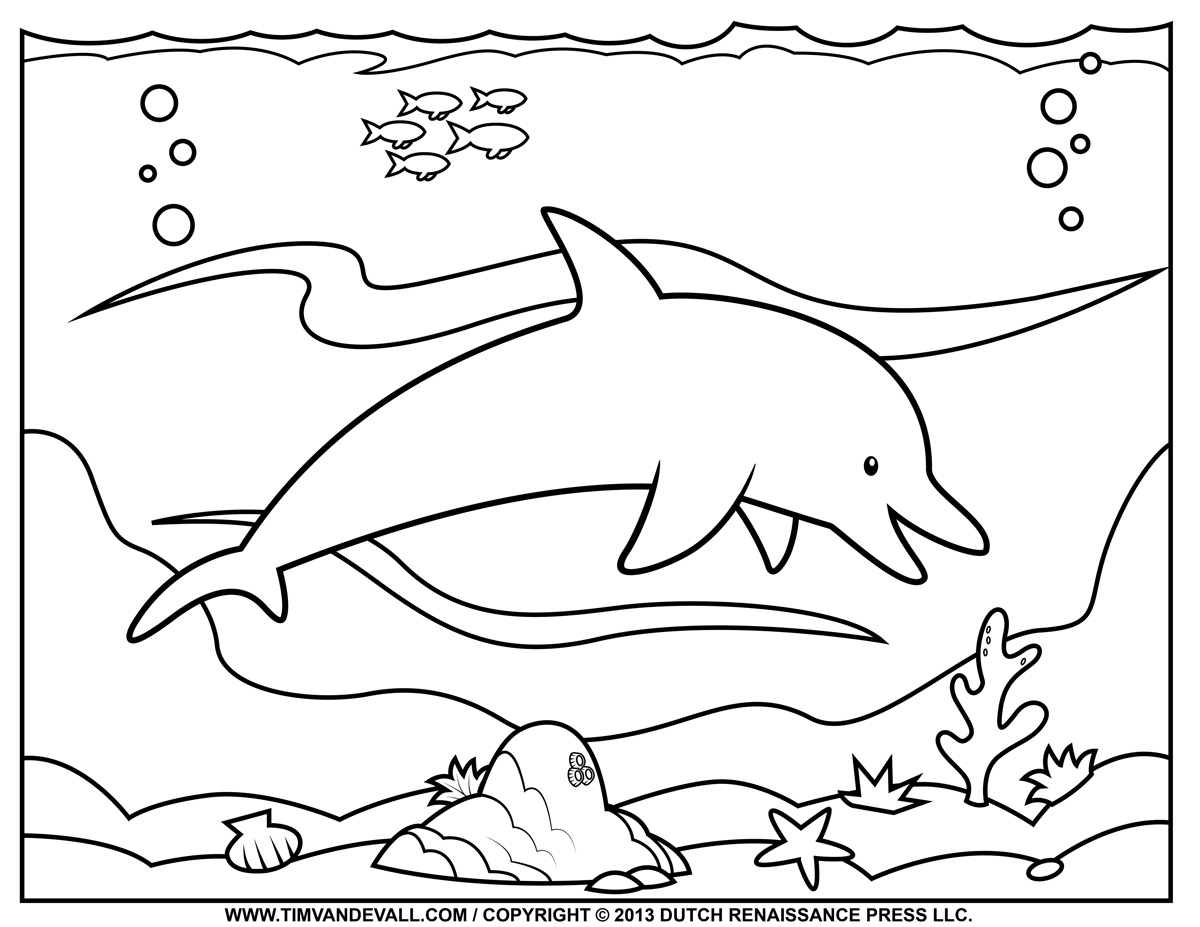 dolphin coloring pages free printable dolphin coloring pages free dolphin printable coloring pages