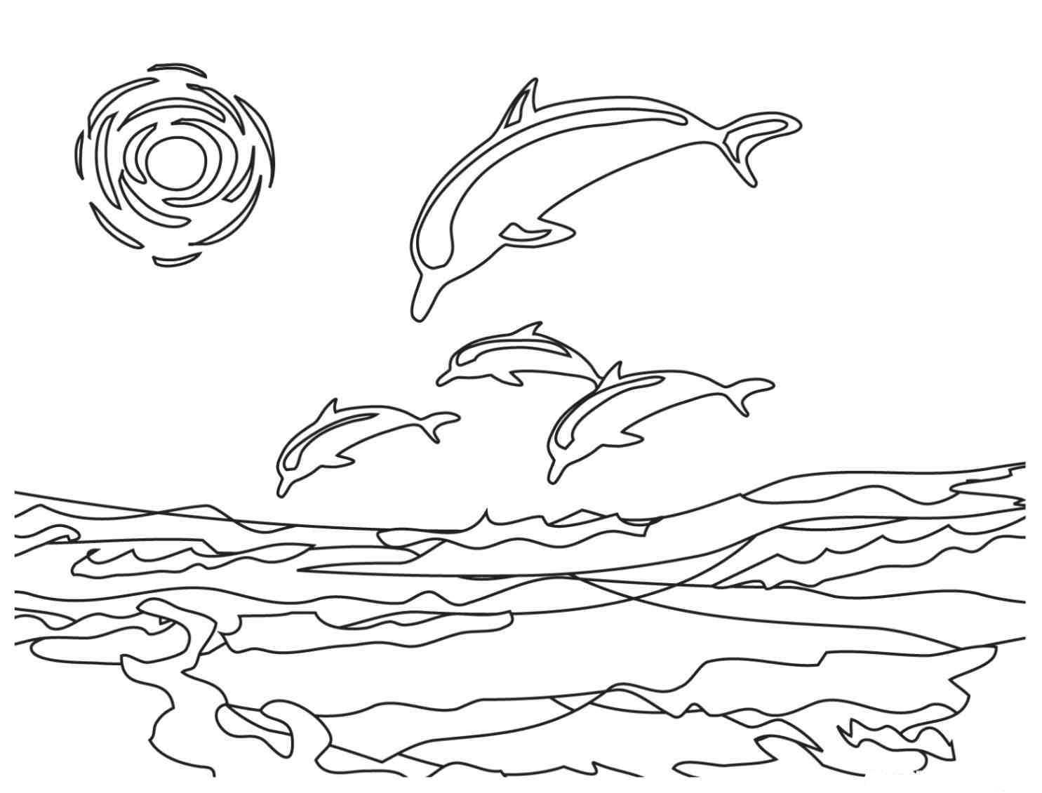 dolphin coloring pages free printable free printable dolphin coloring pages for kids free dolphin printable coloring pages