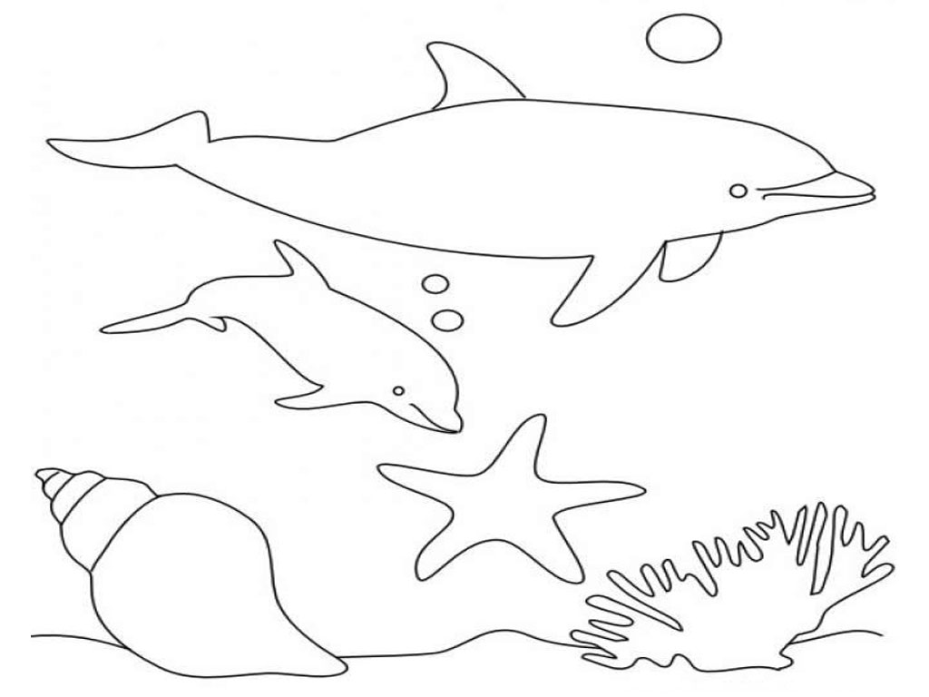 dolphin coloring pages free printable two dolphins animal coloring page for kids sea animal dolphin pages free printable coloring