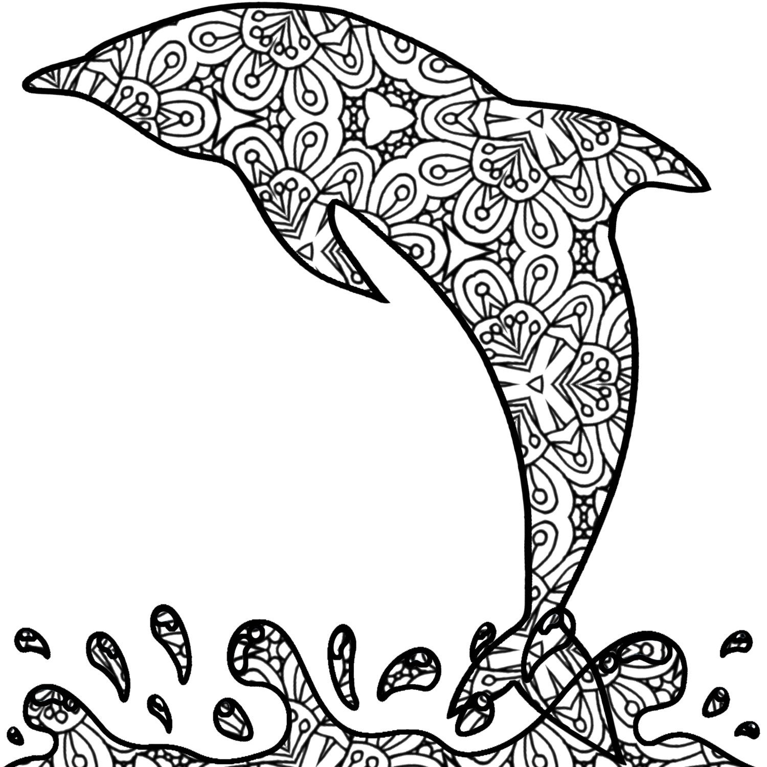 dolphin colouring in dolphin coloring page 1 color kid stuff colouring in dolphin