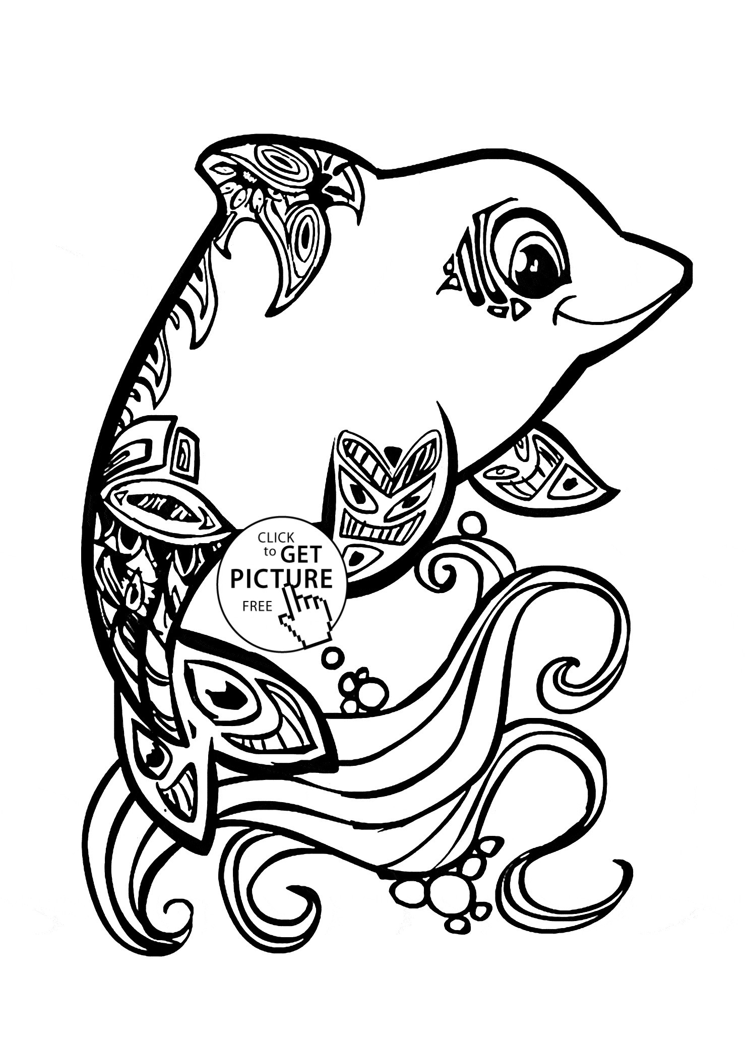 dolphin colouring in dolphin coloring page 170 coloring sheets in dolphin colouring
