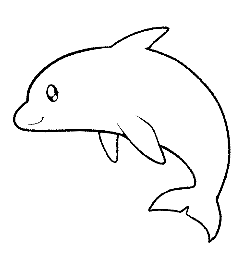 dolphin colouring in dolphin to draw print color cut and paste coloring dolphin colouring in