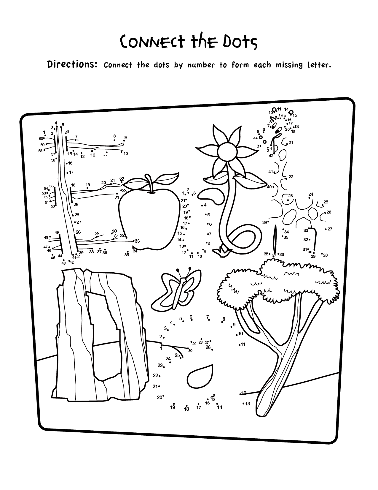 dot to dot first grade 9 best images of 1st grade worksheets connect the dots first dot to dot grade