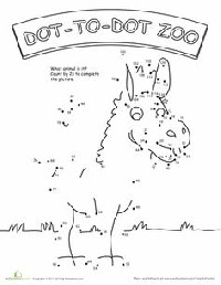 dot to dot first grade spring dobber dots activity pages  math and literacy dot grade first to dot
