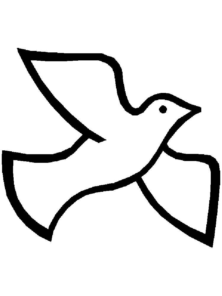 dove bird coloring pages white doves drawing at getdrawings free download pages coloring bird dove