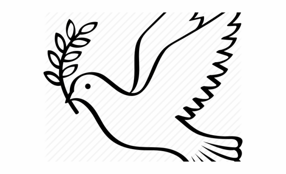 dove with olive branch vector black silhouette of a flying dove with olive branch dove branch with olive