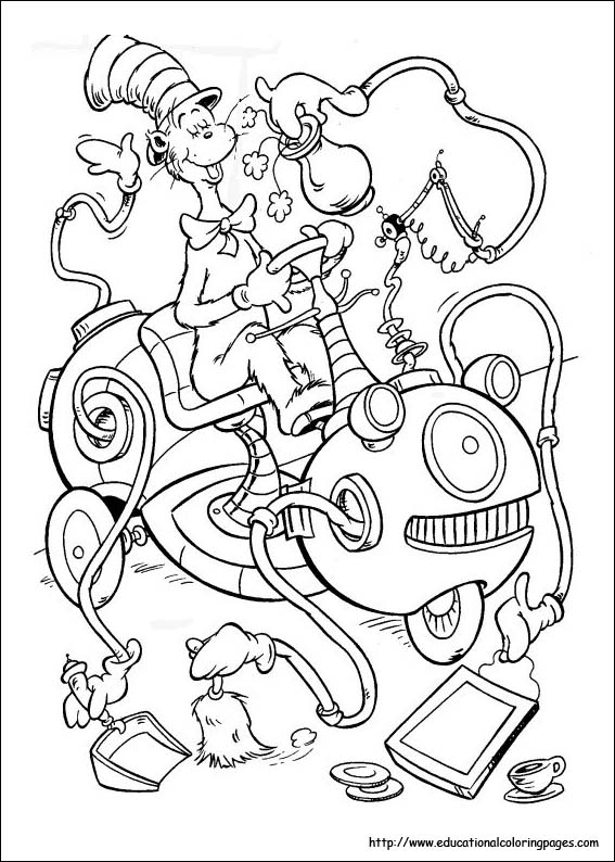 dr seuss printable coloring pages 25 free printable dr seuss coloring pages coloring printable seuss pages dr