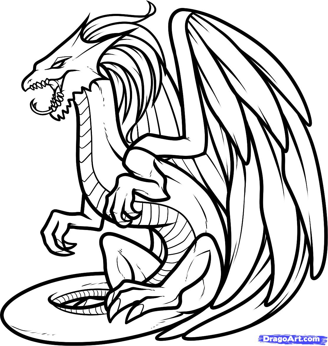 dragon coloring page dragon coloring pages to download and print for free coloring dragon page
