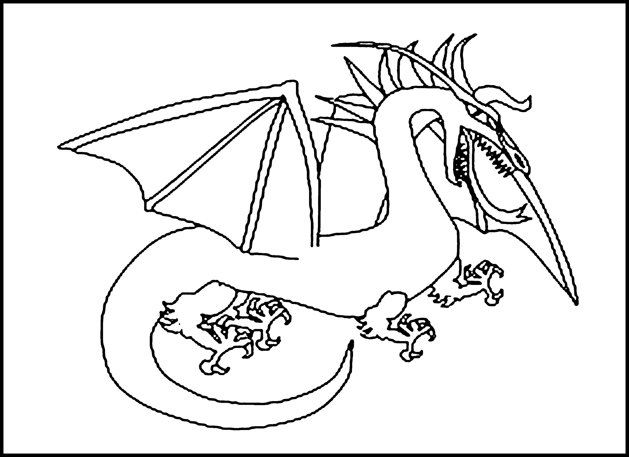 dragon coloring pages free giant dragon dragons adult coloring pages dragon coloring pages free
