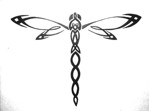 dragonfly tattoo outline tribal dragonfly tattoo design stencil tattoo dragonfly