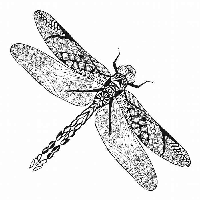 dragonfly tattoo small tribal dragonfly tattoo design tattoo dragonfly