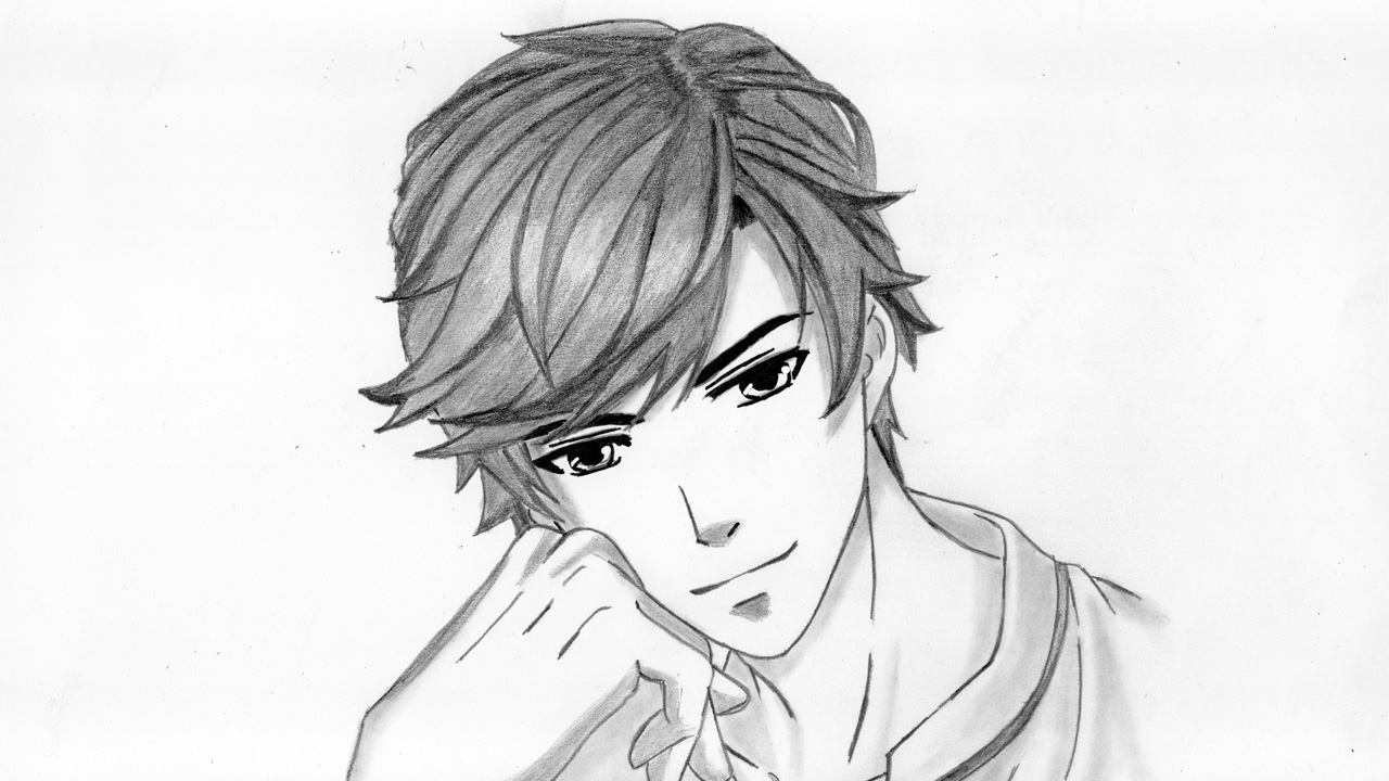 draw boy anime anime guy drawing at getdrawings free download boy anime draw