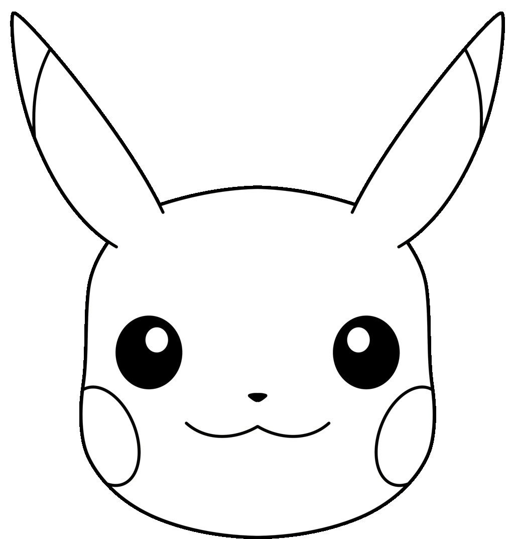 draw pikachu 10 best for drawing sketches pikachu face invisible blogger draw pikachu