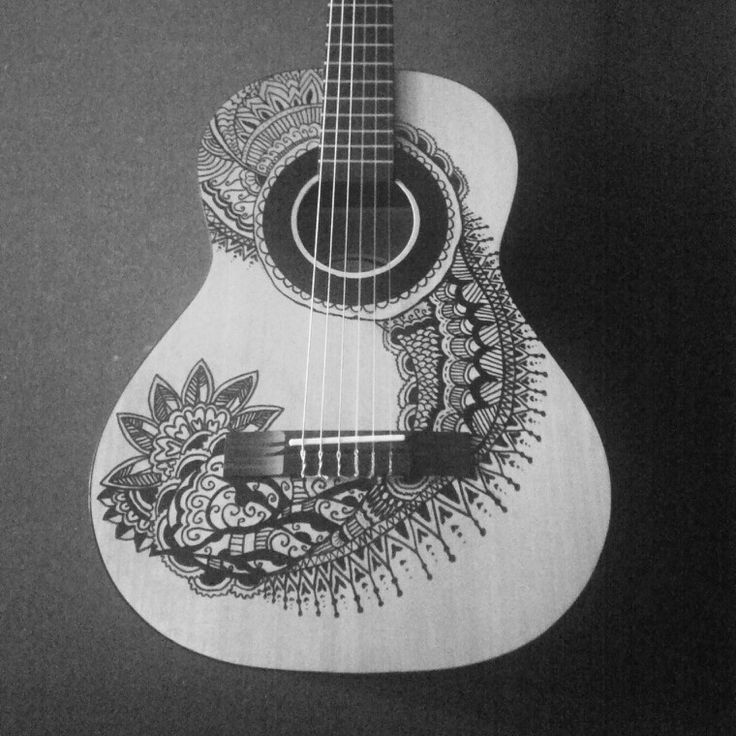 drawing guitar acoustic guitar drawing at paintingvalleycom explore drawing guitar